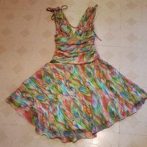 Multicolored floral A.B.S by Allen Schwartz Dress